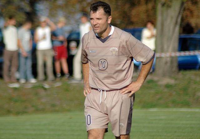 Jarosław Nowak (na zdjęciu) równo 10 lat temu grał z Gwiazdą Sypniewo w A klasie.