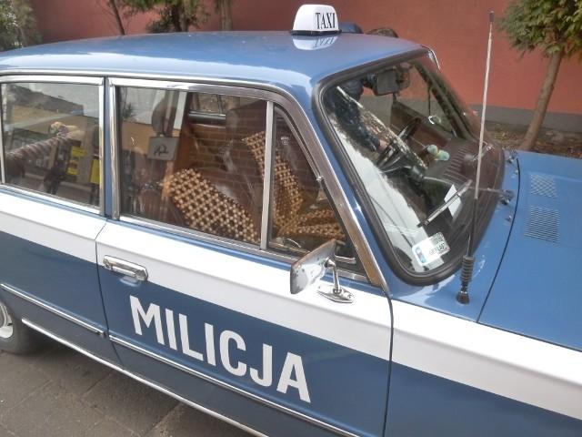 Taksówka Daniela Krefta z Bytowa  policjantom nie przypadła do gustu