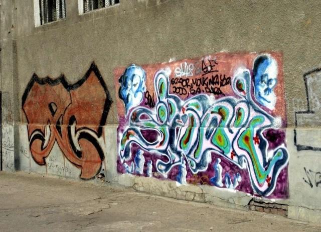 Firma Zero Graffiti, zajmująca się usuwaniem graffiti ze ścian zaproponowała, że oczyści bezpłatnie zanieczyszczony fragment miejskiej elewacji
