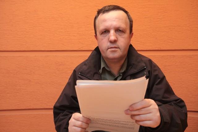Pan Zbigniew czeka na stałą rentę