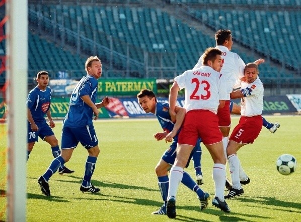 Zwycięstwo z ŁKS było jedyną ligową wygraną chorzowian w tym roku na Stadionie Śląskim