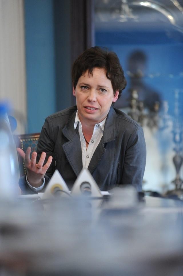 Joanna Bielawska- Pałczyńska, od 1 kwietnia p.o. konserwatora zabytków