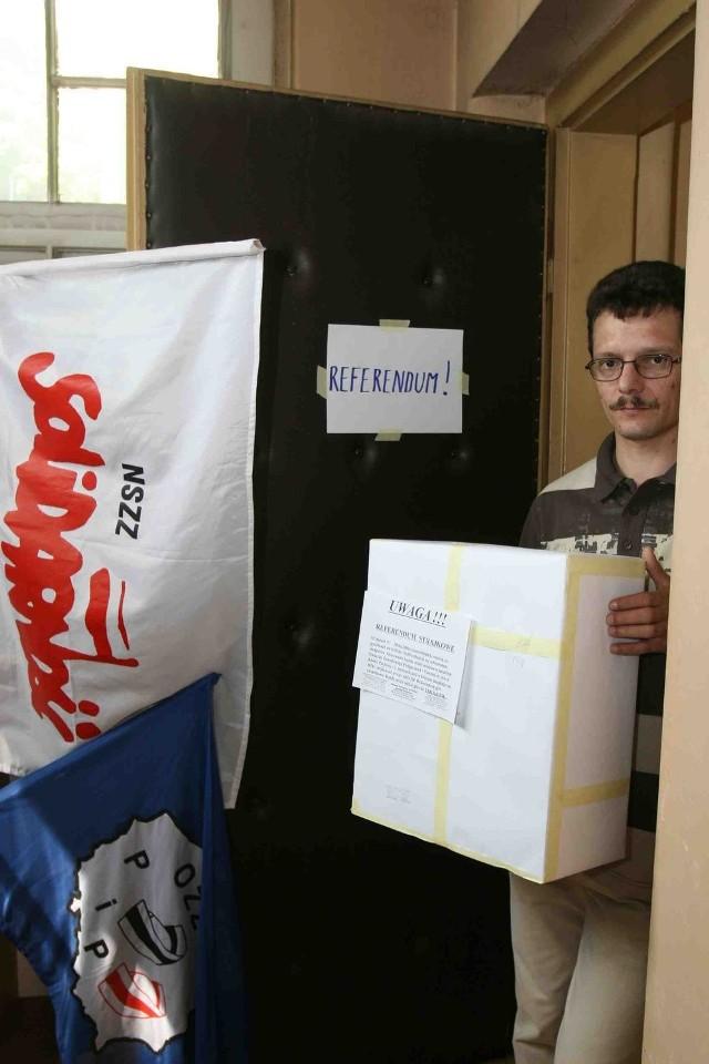 Aby strajk się odbył, potrzebujemy 400 głosów na tak - mówi Michał Stawski