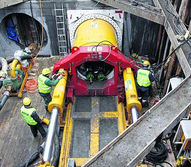 Tunel pod Martwą Wisłą ma zostać wykonany metodą tzw. mikrotunelingu