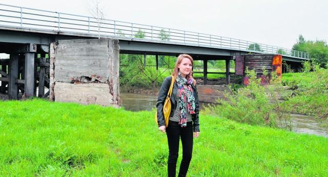 Anna Szczurowska nie ma kontaktu ze swoimi znajomymi. Straciła już nadzieję, że most otworzą w tym roku