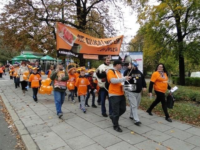 Poznański marsz przeciwko marnowaniu żywności