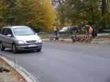 Biedrusko czeka na zakończenie remontu drogi