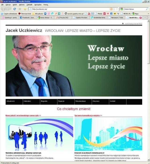 Kandydat SLD uruchomił stronę w internecie