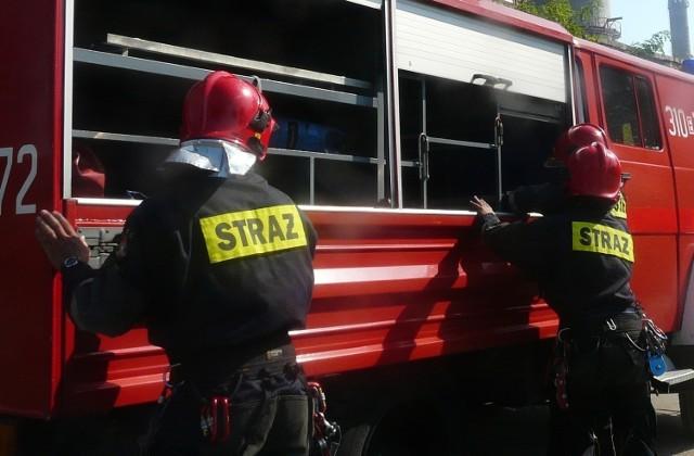 Pożar w Pruszczu Gd. 27.05.2020