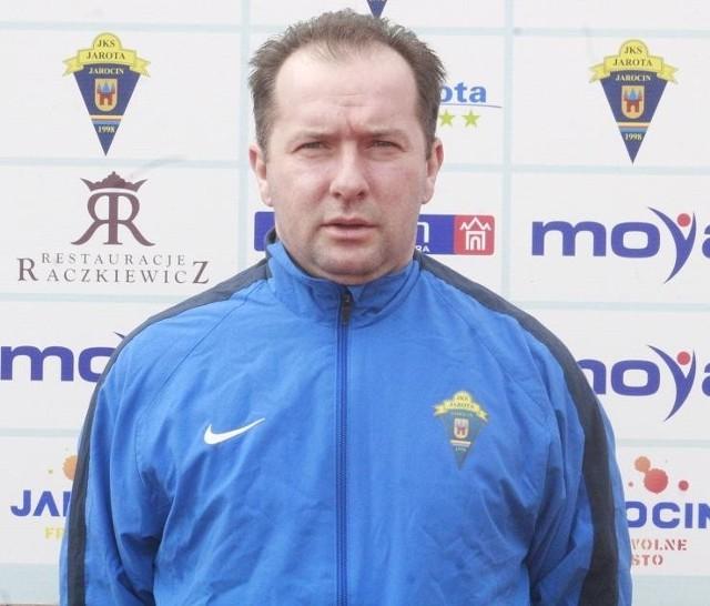Trener Tomasz Mazurkiewicz