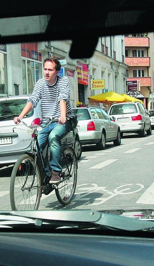 Co trzeci rowerzysta nie wie, jak korzystać z kontrapasa