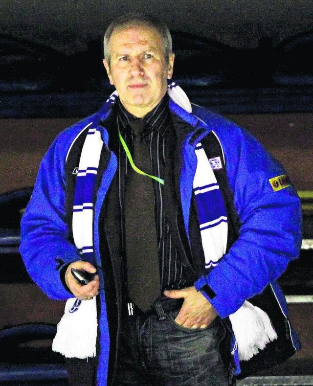 Tadeusz Obłój prosi o doping także w następnych meczach