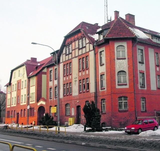 Budynek byłej komendy powiatowej policji