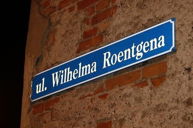 Ulica Roentgena przed wojną miała tego samego patrona
