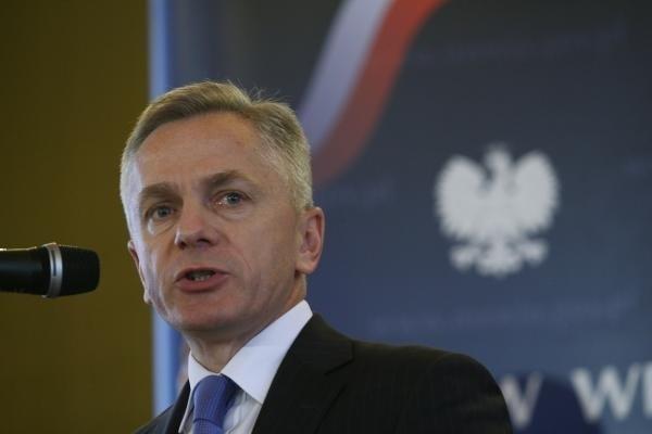 Wiceminister spraw wewnętrznych Adam Rapacki