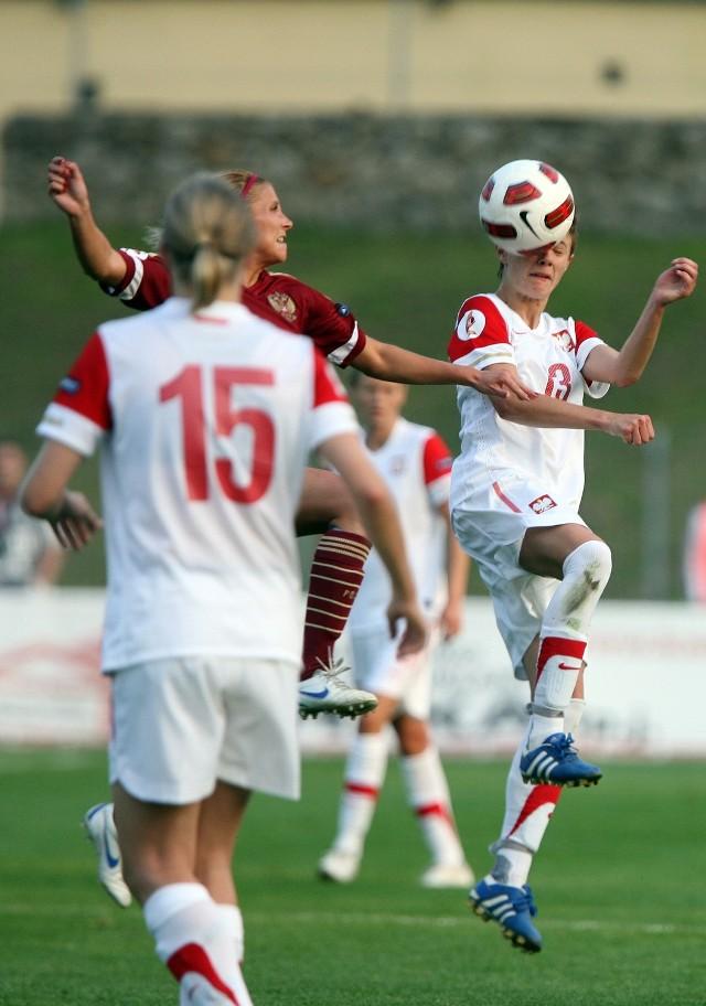 Polskie piłkarki przegrały z Rosjankami