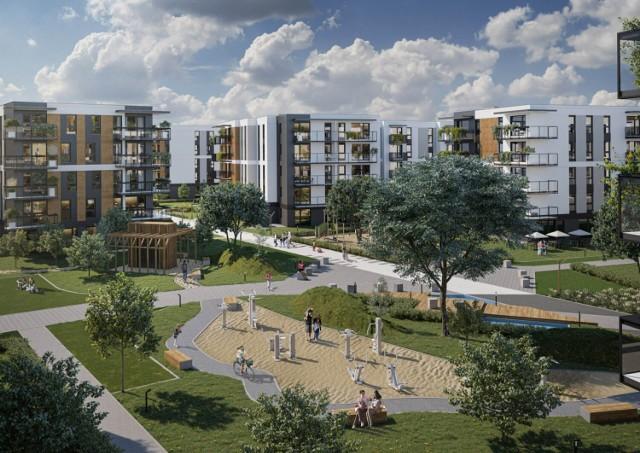 Nowe osiedle w Warszawie. Projekt zakłada liczne ekologiczne rozwiązania