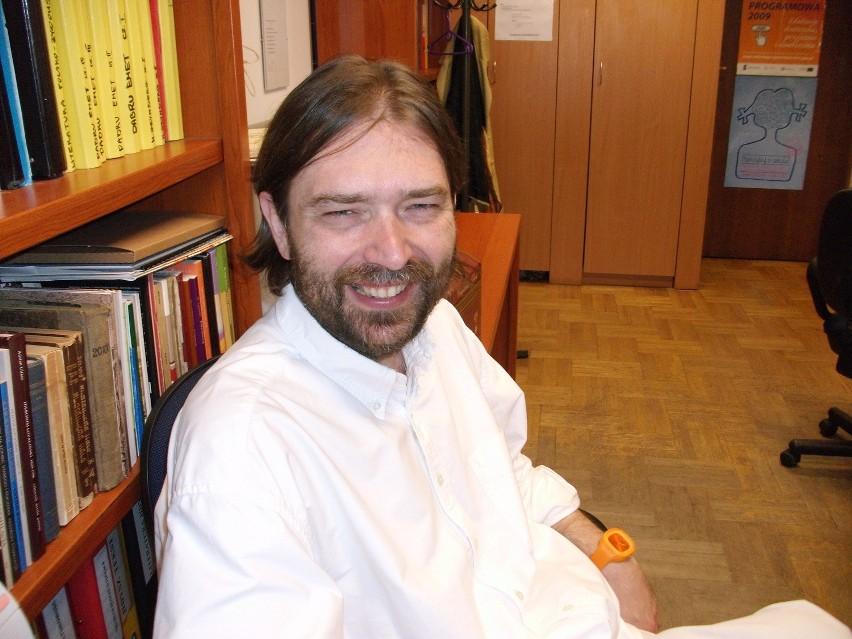 Prof. dr hab. Sławomir Jacek Żurek, kierownik Katedry Dydaktyki Literatury i Języka Polskiego oraz Pracowni Literatury Polsko-Żydowskiej KUL.