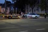Wieczorna kolizja na ulicy Szczecińskiej w Słupsku [ZDJĘCIA]