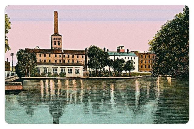 W Białej Fabryce dziś mieści się Centralne Muzeum Włókiennictwa