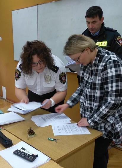 Uczniowie zmierzyli się z testem wiedzy o bezpieczeństwie