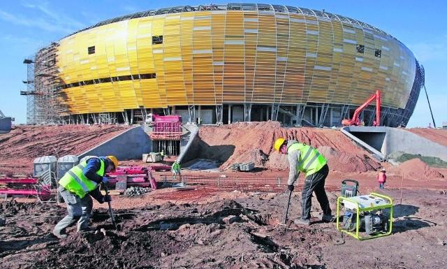 PGE Arena ma już wszystkie krzesełka, murawę i system monitoringu. Meczu z Francją nie udałoby się jednak zorganizować