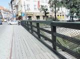 Kalisz: Zniknie wreszcie prowizoryczna balustrada - wyremontują most