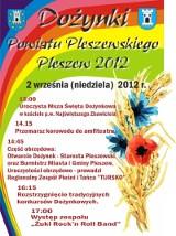 Dożynki Powiatu Pleszewskiego 2012.