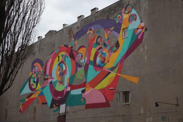 Mural przy al. Kościuszki 32