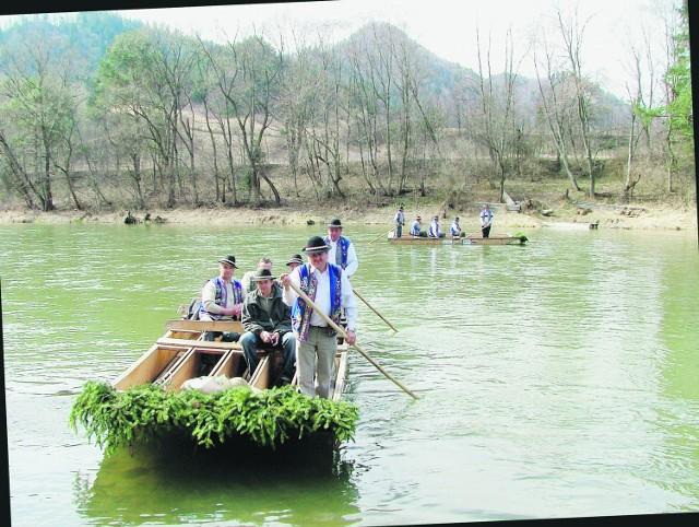 Kontrolny spływ przełomem Dunajca wypadł pomyślnie