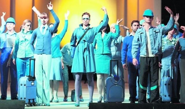 "Próba kostiumowa opery ""La liberta chiama la liberta"""