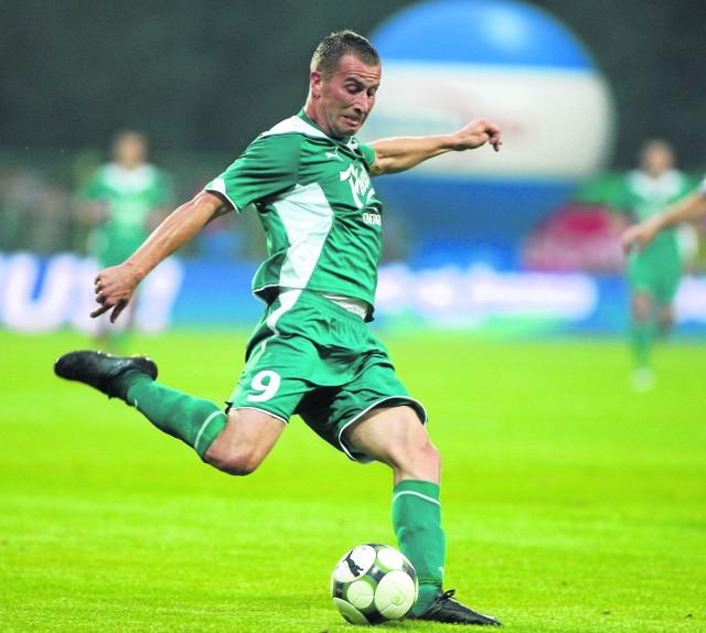 Marek Gancarczyk gra w Oławie, ale szuka lepszego klubu