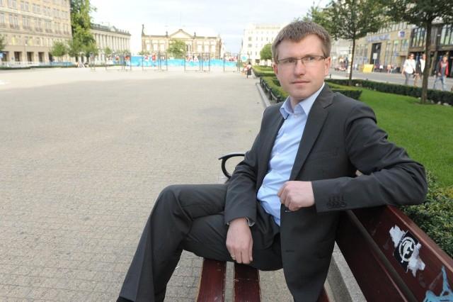 Andrzej Rataj jest zadowolony, że tylu mieszkańców angażuje się w życie osiedla