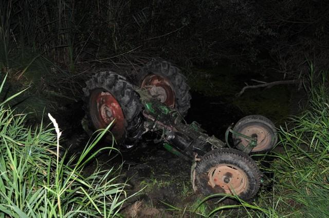 W Baranowie ciągnik przygniótł 35-latka. Mężczyzna zmarł na miejscu