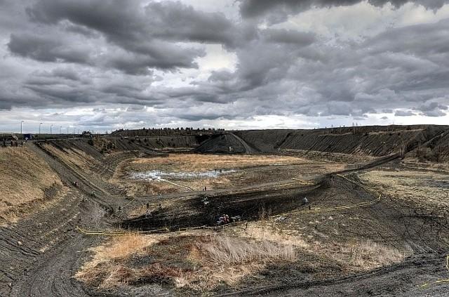 Hałda kopalni Lubelskiego Węgla Bogdanka jest już gotowa na przyjęcie motocyklistów