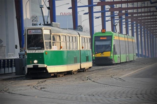 Bajkowy tramwaj na ulicach Poznania