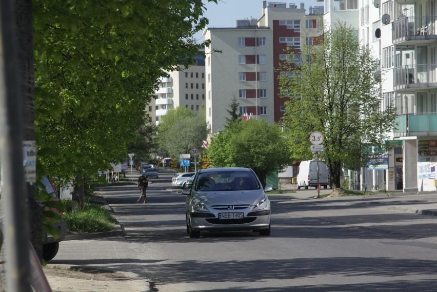 Przebudowa jezdni na odcinku Zana - Kaliska