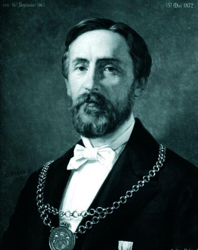 Urząd nadburmistrza Hobrecht pełnił przez 9 lat