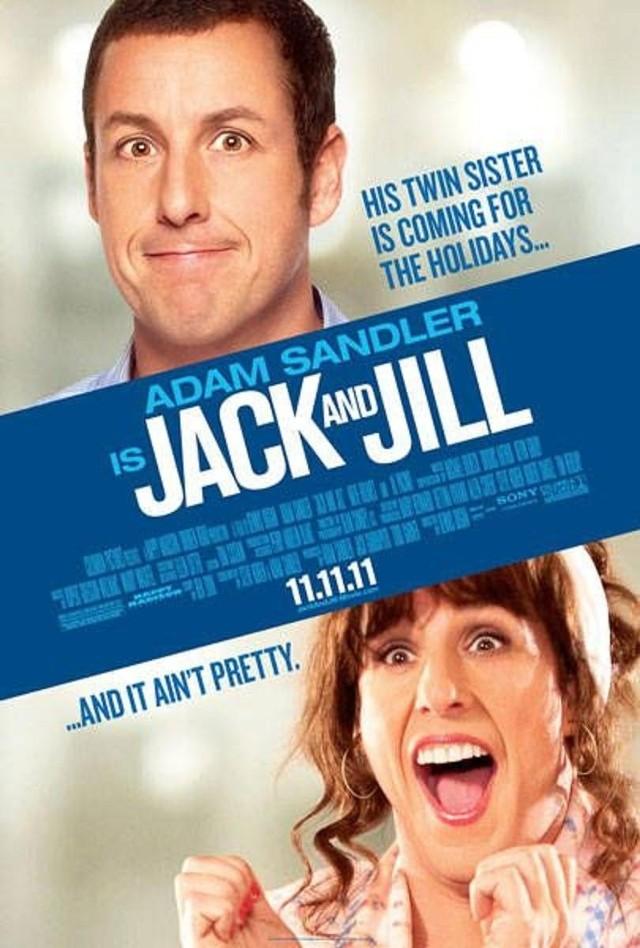 """Film """"Jack i Jill"""" otrzymał 10 Złotych Malin. m.in. za najgorszą reżyserię, za najgorszy scenariusz czy dla najgorszego filmu"""