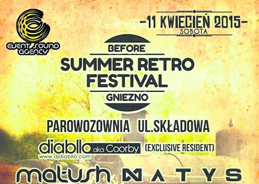 Before Retro Summer Festival - już 11 kwietnia na terenie...