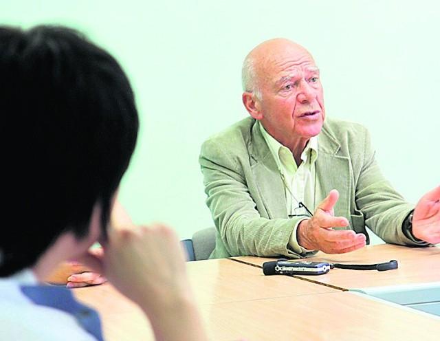 Bernard Ollivier, francuski pisarz i podróżnik, autor oryginalnej metody resocjalizacji dla młodocianych więźniów