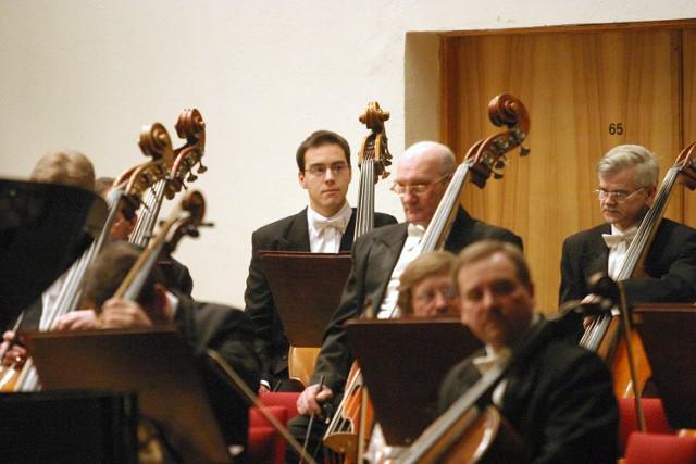 Orkiestra Filharmonii Łódzkiej.