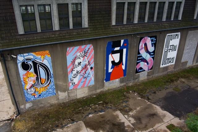 Budynek po hucie Uthemann w katowickich Szopienicach się zmienia. Na zewnątrz ozdobiły go kolorowe murale, które powstały dzięki stowarzyszeniu DAJSE.   Zobacz kolejne zdjęcia. Przesuń w prawo - wciśnij strzałkę lub przycisk NASTĘPNE