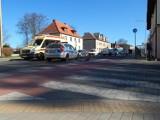Wypadek na ścieżce rowerowej w Ustce. Rowerzysta w szpitalu