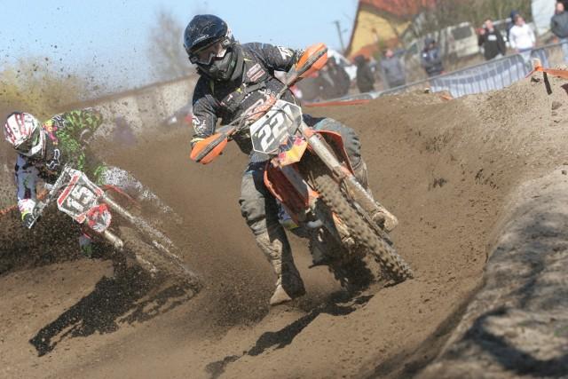 Motocrossowcy w lany poniedziałek jeździli w Albertowie