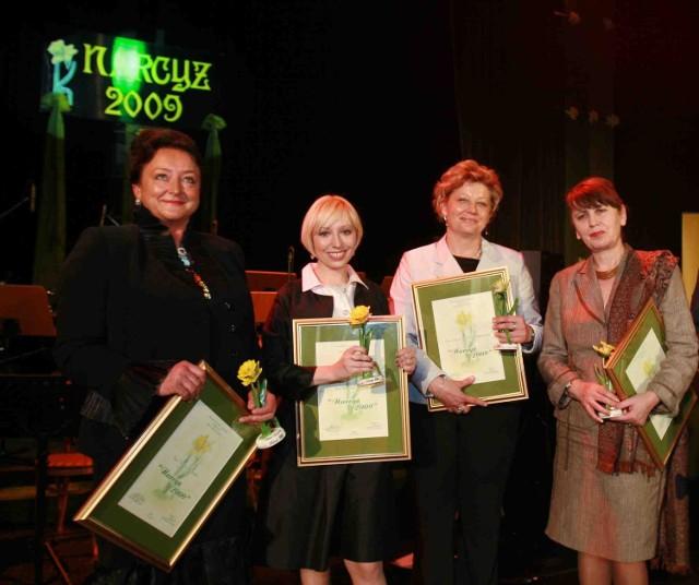Osobiście nagrodę odebrały cztery laureatki