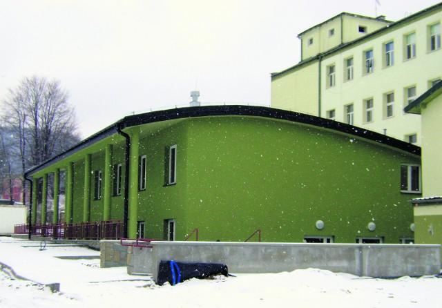 Nowa przychodnia przy szpitalu w Krynicy-Zdroju zostanie otwarta jeszcze w tym roku