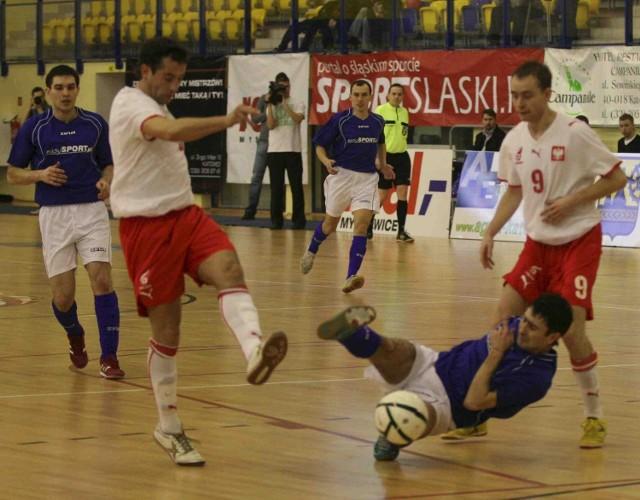 W sobotę biało-czerwoni grali w Katowicach Szopienicach