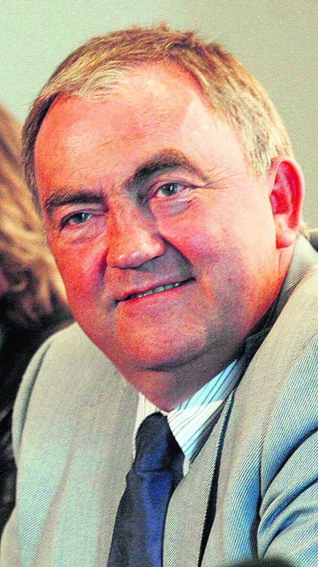 Prezes PZPS Miroslaw Przedpełski