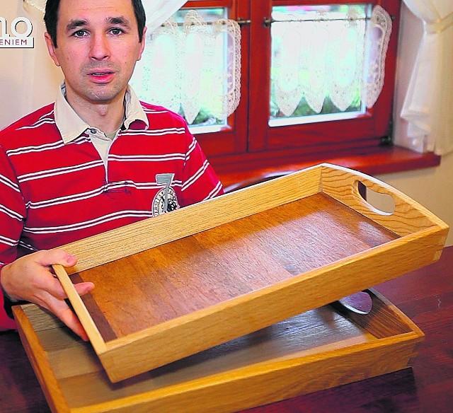 Drewno i jego obróbka to wspólna  pasja małżonków